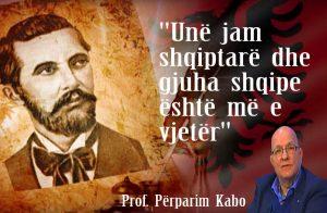 """Prof. Përparim Kabo – le ta thonë me gojën plot """"Unë jam shqiptarë dhe gjuha shqipe është më e vjetër""""(Video)"""
